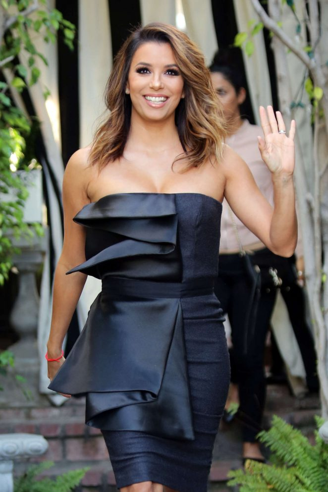 Eva Longoria - Leaves Ken Paves Salon in Los Angeles