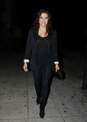 Eva Longoria - Leaving a concert in LA