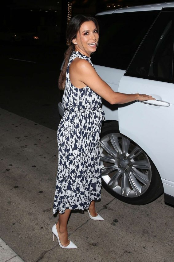 Eva Longoria 2019 : Eva Longoria – Leaving Mr Chow Restaurant-01