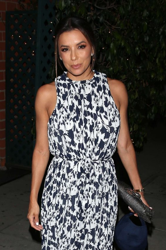 Eva Longoria - Leaving Mr. Chow Restaurant in Beverly Hills