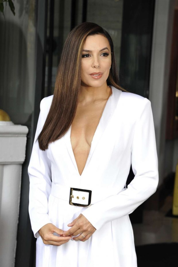 Eva Longoria - Leaving the Majestic Hotel in Cannes