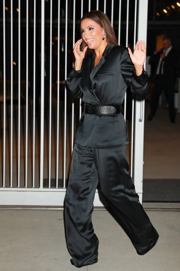 Eva Longoria - Leaving the Woman in Hollywood Gala held at the Academy Museum