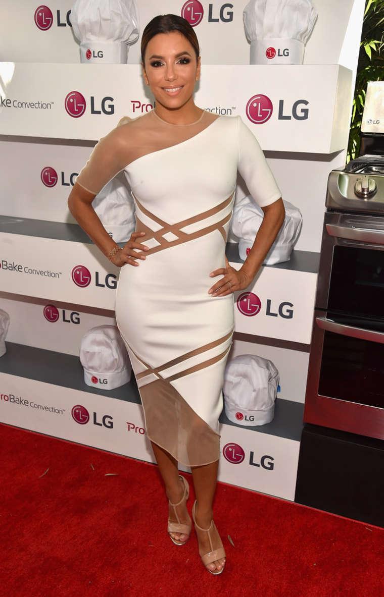 Eva Longoria 2015 : Eva Longoria: LG Electronics LG Fam To Table Series -01
