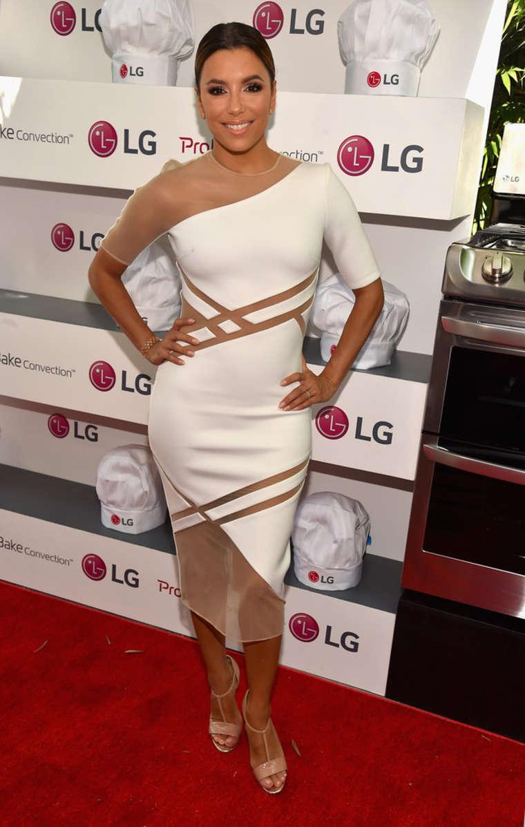 Eva Longoria 2015 : Eva Longoria: LG Electronics LG Fam To Table Series -05