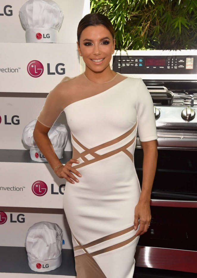 Eva Longoria - LG Electronics LG Fam To Table Series in Culver City