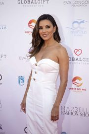 Eva Longoria - Marbella Fashion Show at Global Gift Philanthropic Weekend