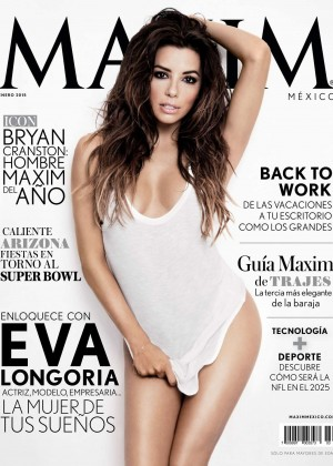 Eva Longoria - Maxim Mexico Magazine (January 2015)
