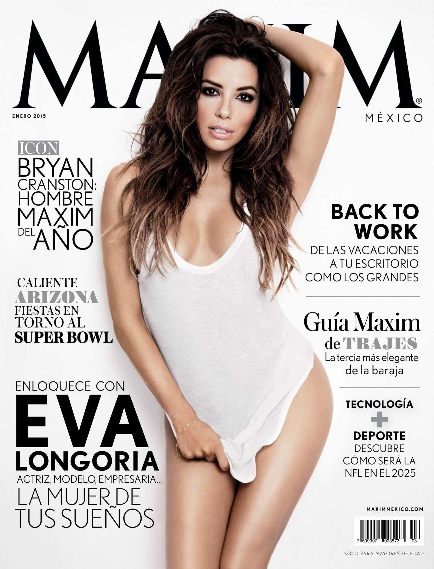 Eva Longoria - Maxim Mexico Magazine (January 2015)