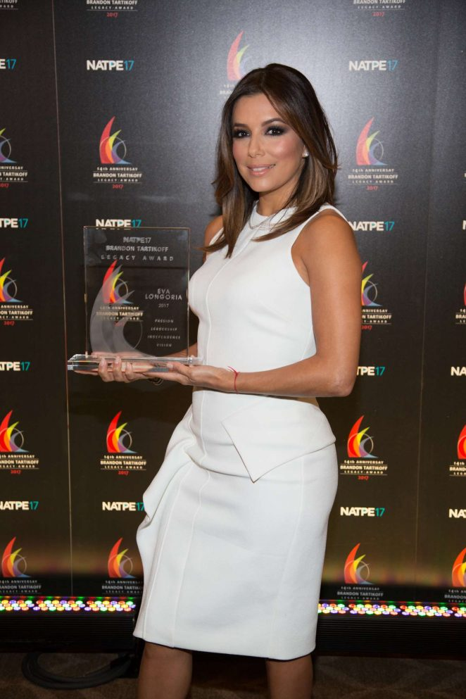 Eva Longoria - NATPE Brandon Tartikoff Legacy Award Ceremony in LA