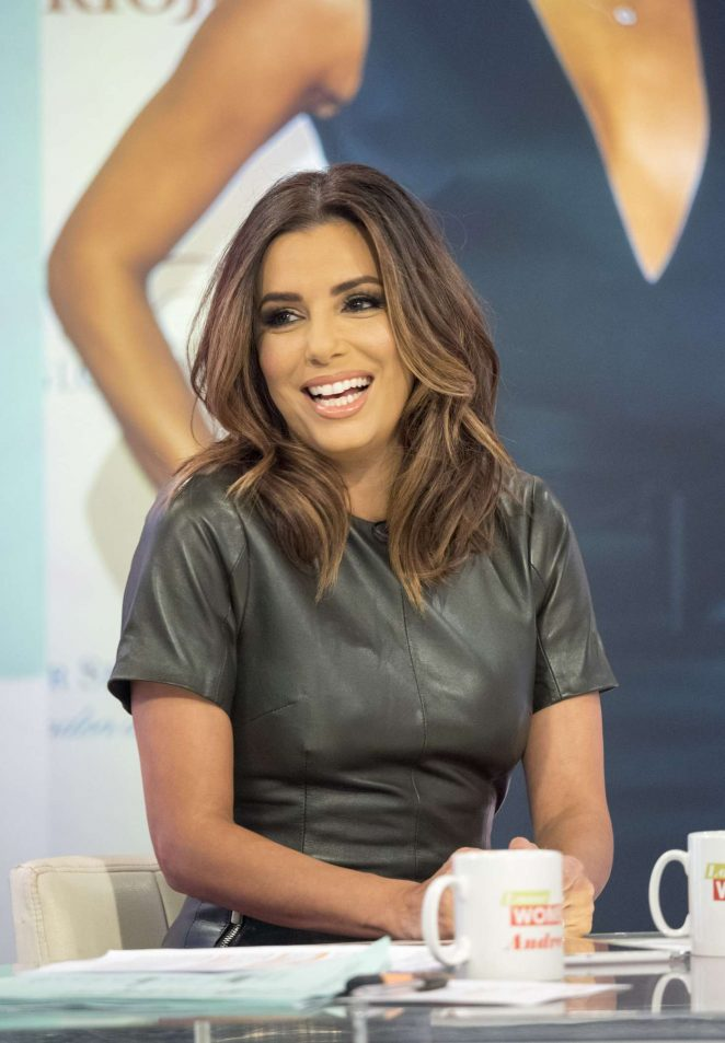 Eva Longoria on Loose Women TV Show -10
