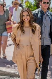 Eva Longoria on the Croisette in Cannes