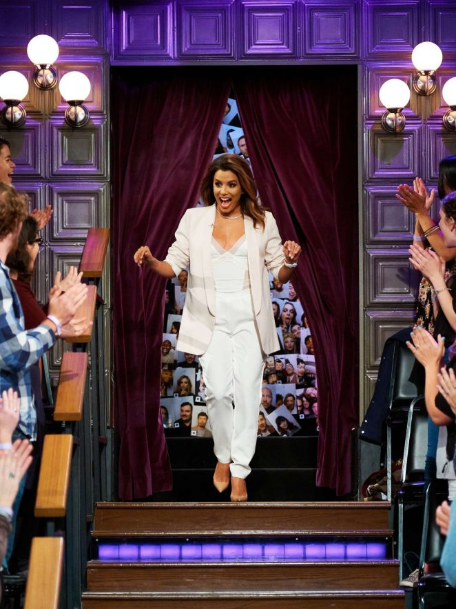 Eva Longoria on 'The Late Late Show with James Corden' in Los Angeles