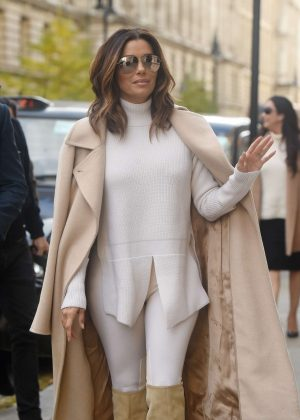 Eva Longoria Out and about in London