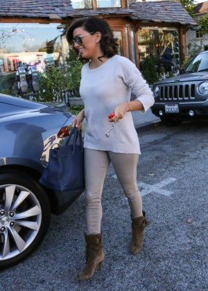 Eva Longoria - Out and about in Los Angeles on new years eve