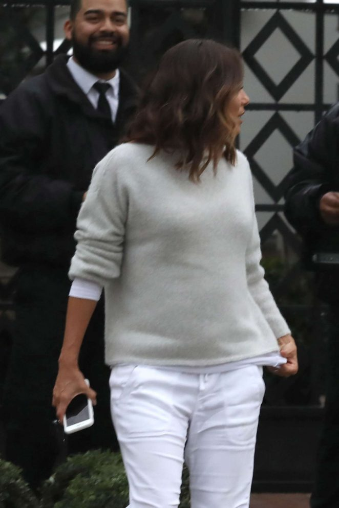 Eva Longoria - Out and about in Los Angeles