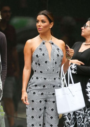 Eva Longoria - Out and about in NYC