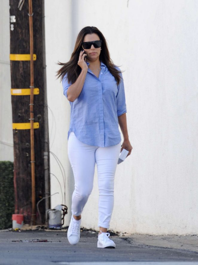 Eva Longoria - Out in Brentwood