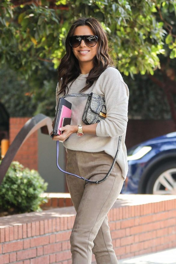 Eva Longoria - Out to lunch at Honor Bar in Beverly Hills