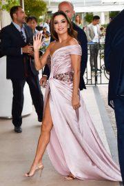 Eva Longoria - Outside the Hotel Martinez in Cannes