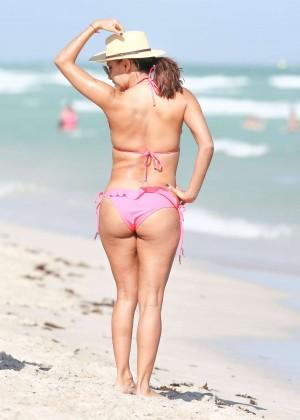 Eva Longoria in Pink Bikini -09