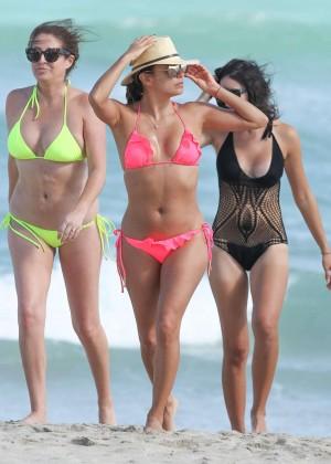 Eva Longoria in Pink Bikini -19