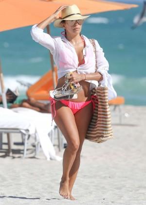 Eva Longoria in Pink Bikini -23