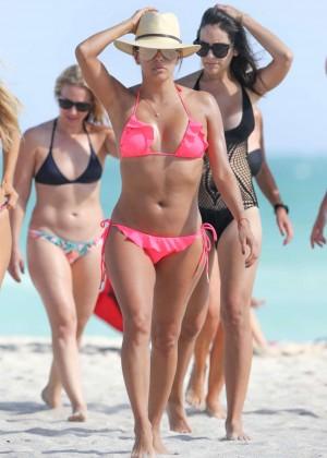 Eva Longoria in Pink Bikini -43
