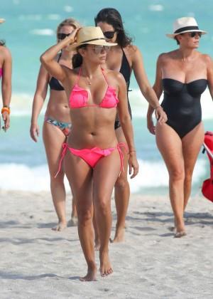 Eva Longoria in Pink Bikini -53
