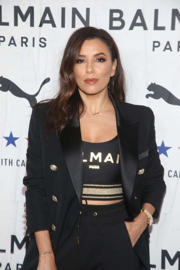 Eva Longoria - PUMA x Balmain Launch Event in Los Angeles