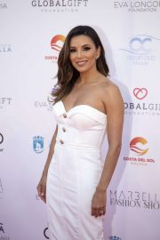 Eva Longoria - Red Carpet at Marbella Fashion Show during Global Gift Philanthropic Weekend 2019