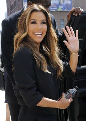 Eva Longoria - Seen at New York Fashion Week in New York City