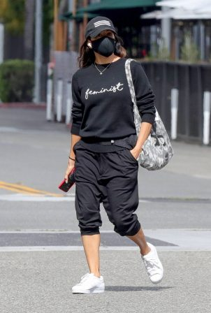 Eva Longoria - Seen on International Women's Day at Alo Yoga store in Beverly Hills
