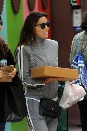 Eva Longoria - Shopping at The Grove with friends in Los Angeles