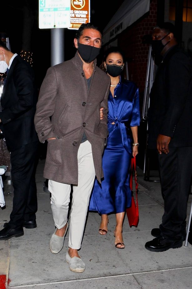 Eva Longoria - Spotted after dinner at Mr. Chow in Beverly Hills