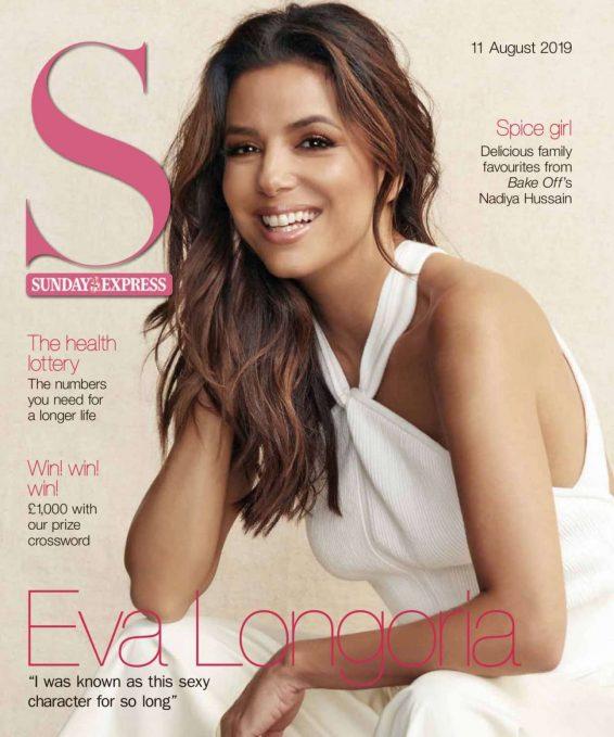 Eva Longoria - Sunday Magazine - August 2019