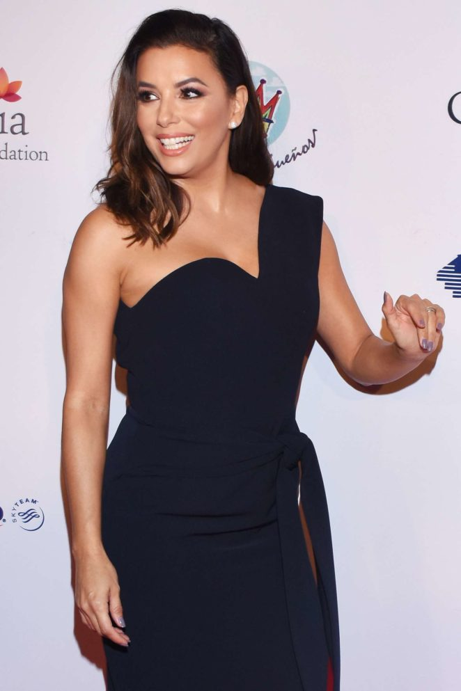 Eva Longoria - The Global Gift Gala 'United by Mexico' in Mexico City