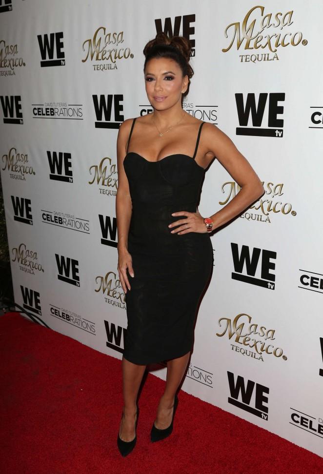 Eva Longoria - WE tv's David Tutera CELEBrations Launch in Hollywood