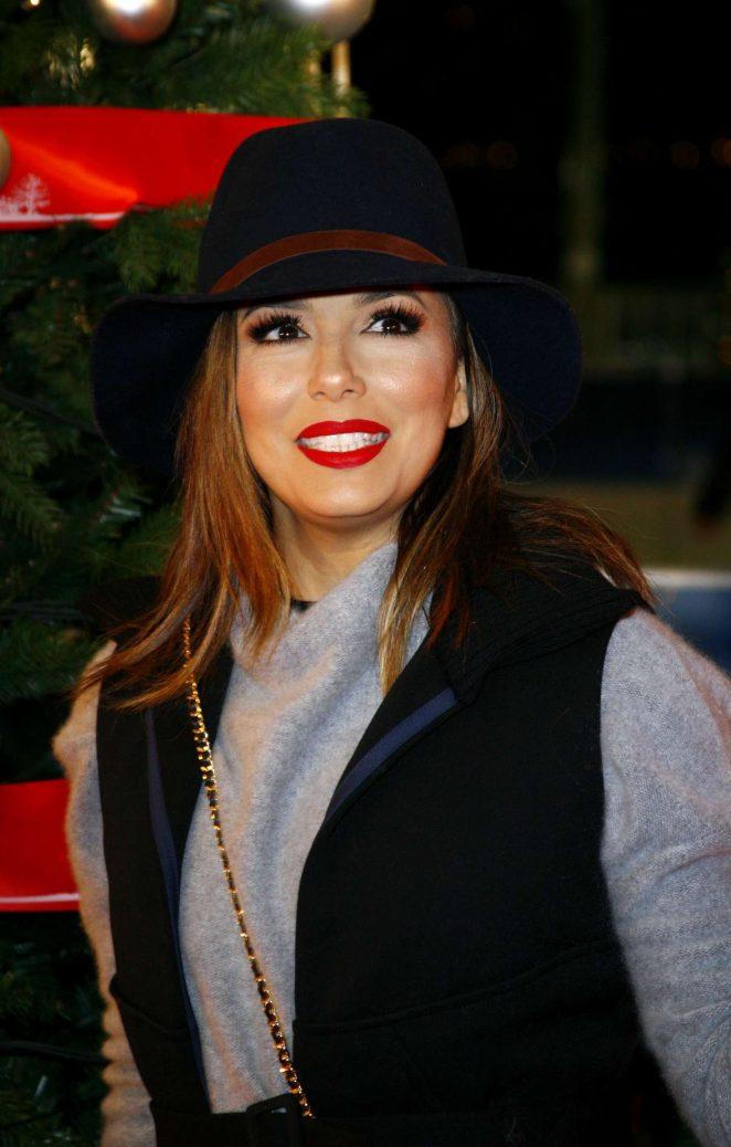 Eva Longoria – Winter Wonderland VIP Launch in London