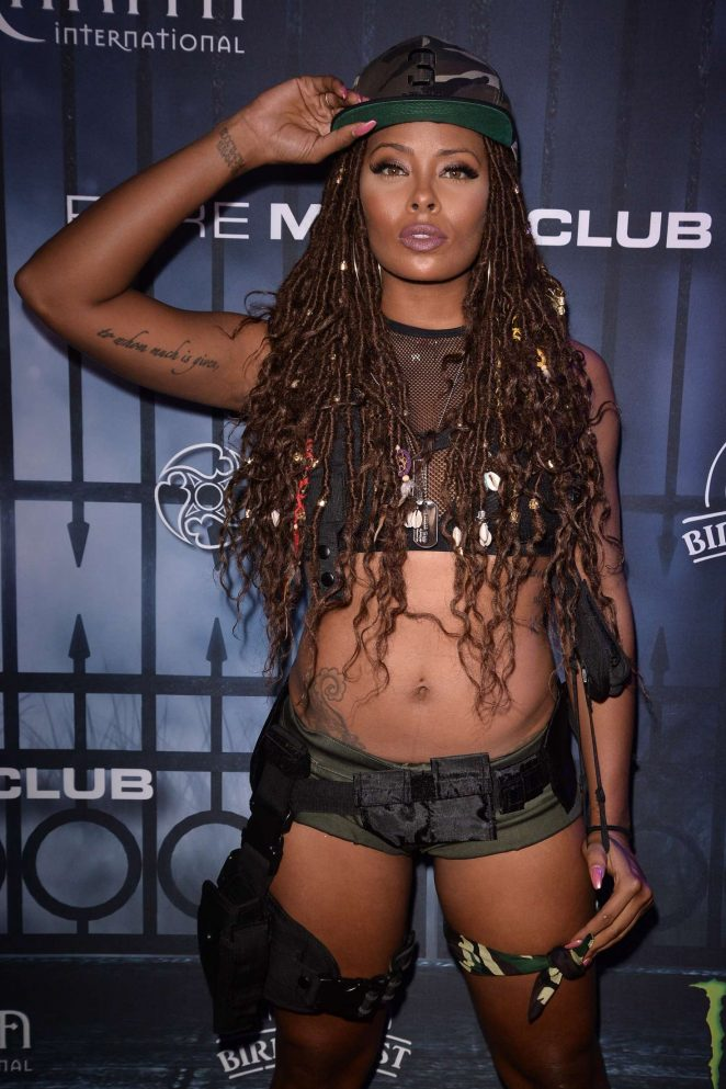 Eva Marcille - Maxim Halloween Party 2016 in Los Angeles