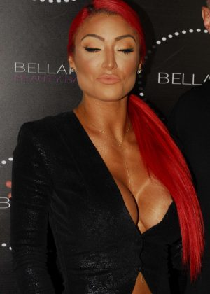 Eva Marie - Bellami Beauty Bar in West Hollywood
