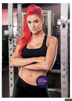 Eva Marie - Muscle & Fitness Hers' Magazine (January/February 2015)