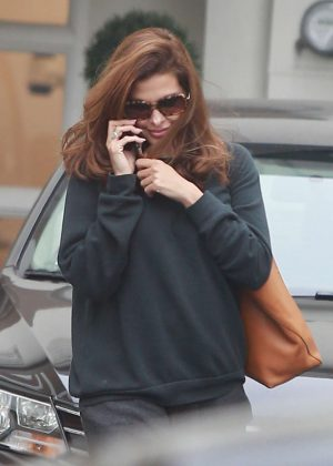 Eva Mendes at Epione in Beverly Hills