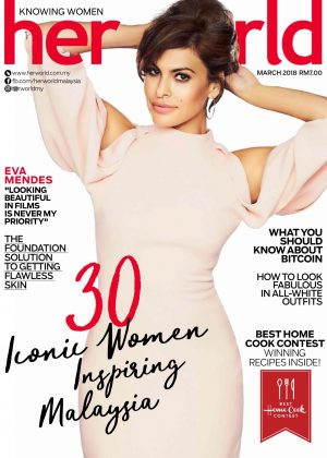 Eva Mendes - Her World Malaysia (March 2018)