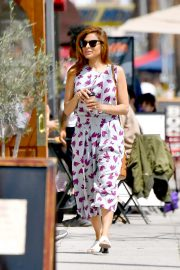 Eva Mendes - Out for coffee in Santa Monica