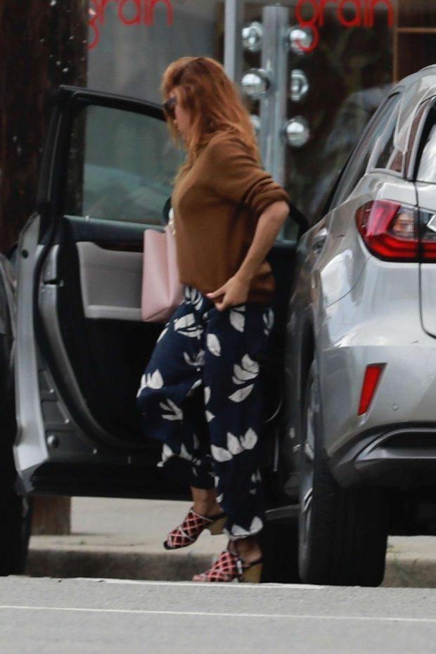 Eva Mendes - Out in Glendale