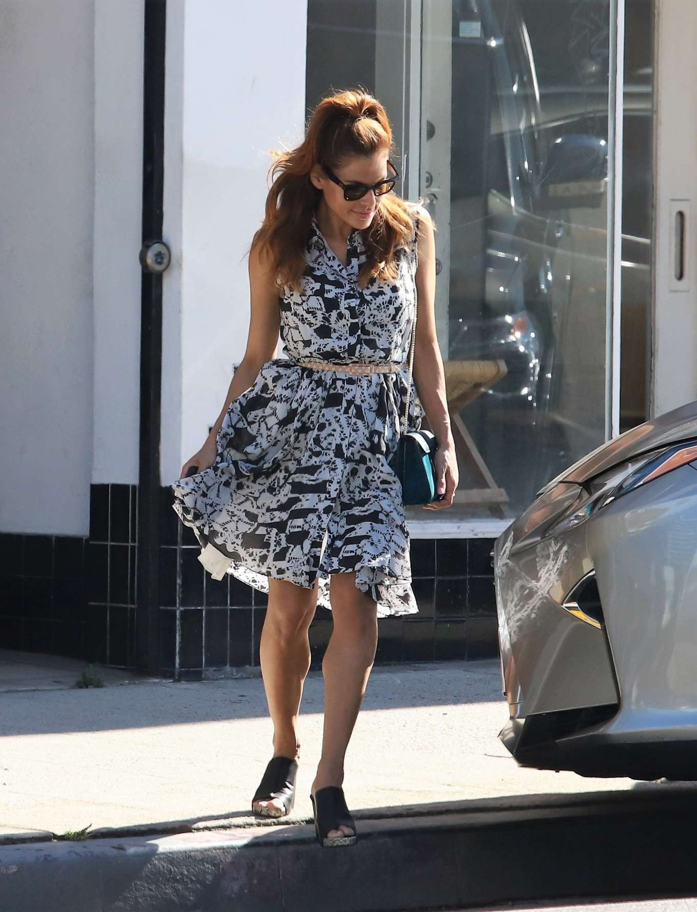 Eva Mendes - Out in Los Angeles