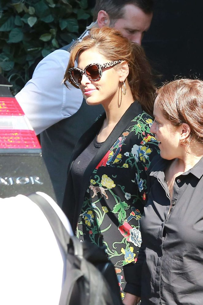 Eva Mendes out in West Hollywood