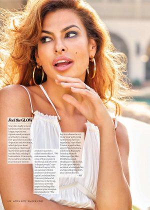 Eva Mendes Shape Magazine April 2017
