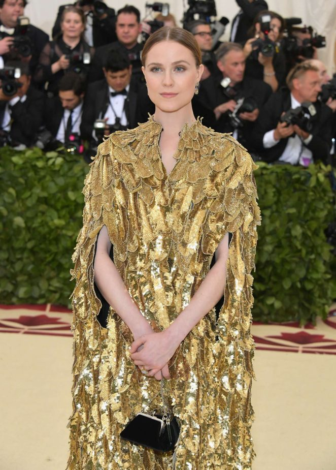 Evan Rachel Wood – 2018 MET Costume Institute Gala in NYC