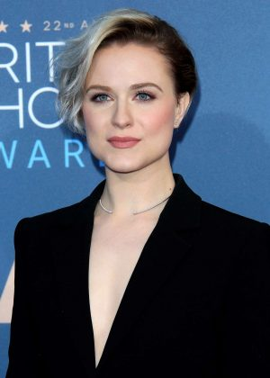 Evan Rachel Wood - 22nd Annual Critics' Choice Awards in Los Angeles